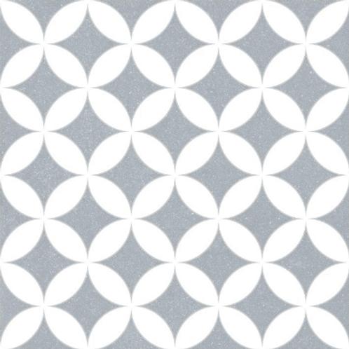 Bertie Blue 30cm x 30cm Wall & Floor Tile