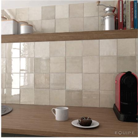 Artisan Ochre 13.2cm x 13.2cm Wall Tile