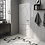 Thumbnail: Chevron Light Grey Right 18.6 x 5.2cm Wall Tile