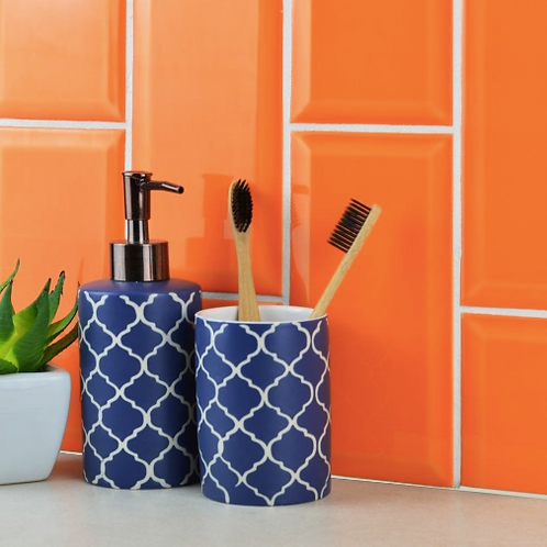 Metro Brick Gloss Orange 10cm x 20cm Wall Tile