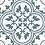 Thumbnail: Ledbury Marina Blue 45cm x 45cm Wall & Floor Tile