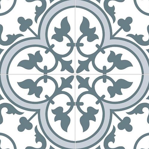 Ledbury Marina Blue 45cm x 45cm Wall & Floor Tile