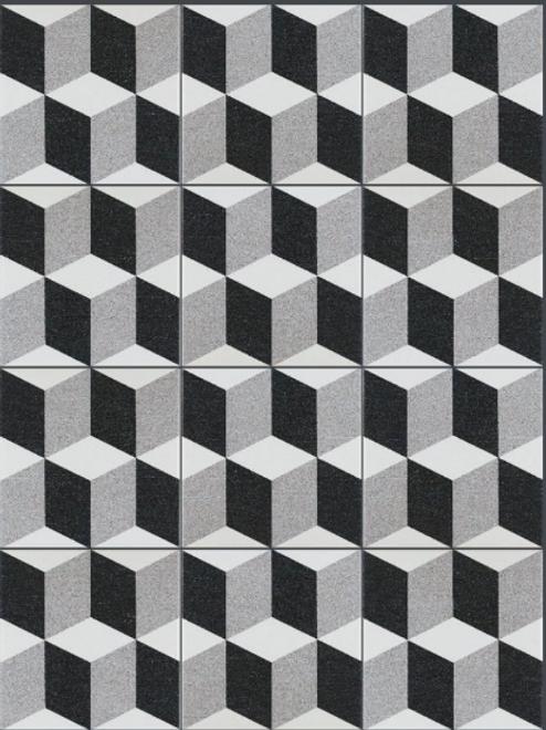 Elegant Geo 20cm x 20cm Floor Tile