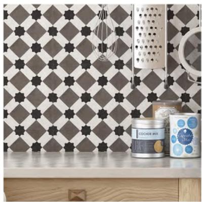 Vintage Livny 20cm x 20cm Wall & Floor Tile