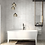 Thumbnail: In Metro Brick Calacatta Gloss 10cm x 20cm Wall Tile