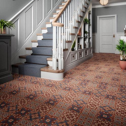 St Pancras Terracotta Feature Floor 331mm x 331mm x 9.7mm