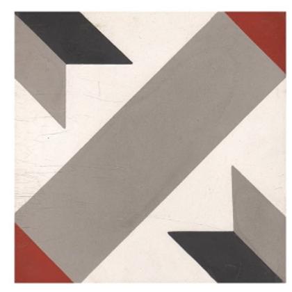 Vintage Arrow 20cm x 20cm Wall & Floor Tile