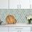 Thumbnail: Hexagon Matt Green Mosaic (9.5cm x 9.5cm) 29.5cm x 25.6cm Wall & Floor Tile