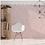Thumbnail: Lily Hex Hexagon Blush Rose Line 22.8cm x 19.8cm Wall & Floor Tile