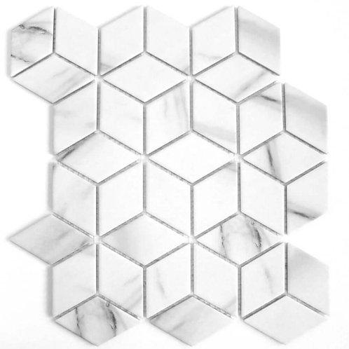 Rhombus Staturio Matt Mosaic 305mm x 265mm x 5mm