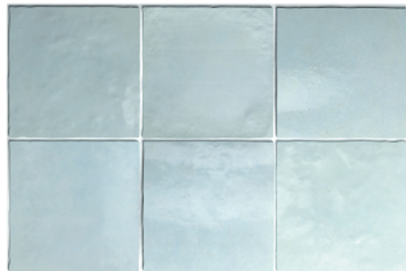 Artisan Aqua 13.2cm x 13.2cm Wall Tile