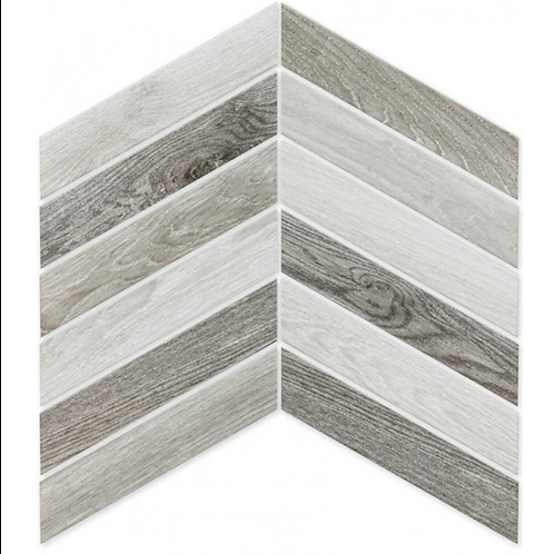 Arrow Vintage Mix 8cm x 40cm Wall & Floor Tile