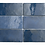 Thumbnail: Artisan Colonial Blue 6.5cm x 20cm Wall Tile