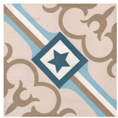 Vintage Starcrest 20cm x 20cm Wall & Floor Tile