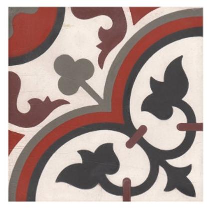 Vintage Aliso White 20cm x 20cm Wall & Floor Tile