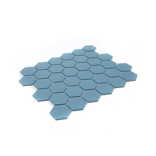 Sky Blue Matt Mosaic 300mm x 280mm x 4mm