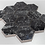 Thumbnail: De-Lux Graphite Hexagon Mosaic (7.2cm x 8.2cm) 26cm x 27.8cm Wall & Floor Tile