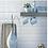 Thumbnail: Metro Brick Gloss Light Grey 10cm x 20cm Wall Tile
