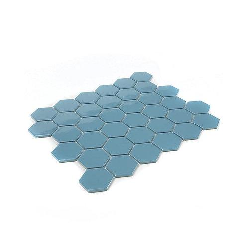 Sky Blue Gloss Mosaic 300mm x 280mm x 4mm