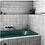Thumbnail: Artisan White 13.2cm x 13.2cm Wall Tile