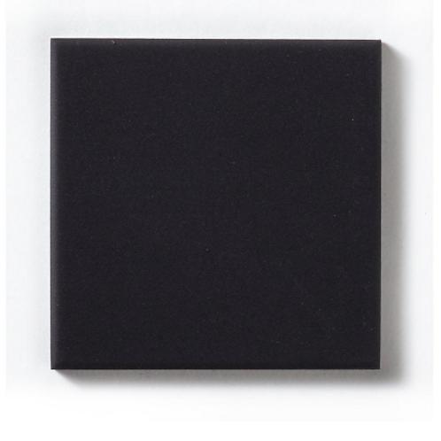 Unglazed Black Quarry 9.6cm x 9.6cm Floor Tile