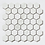 Thumbnail: Q-Marmi Calacatta Hexagon Mosaic (4.8cm x 4.8cm) 32.4cm x 33.2cm Wall & Floor Ti