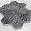 Thumbnail: De-Lux Ash Hexagon Mosaic (7.2cm x 8.2cm) 26cm x 27.8cm Wall & Floor Tile