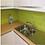 Thumbnail: Metro Brick Gloss Lime 10cm x 20cm Wall Tile