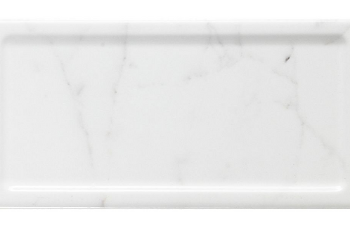 In Metro Brick Carrara Gloss 10cm x 20cm Wall Tile