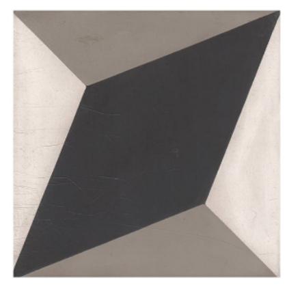 Vintage BW06 Grey 20cm x 20cm Wall & Floor Tile