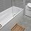 Thumbnail: Terrazzo Hexagon Medium Grey Mosaic 26cm x 27.8cm Wall & Floor Tile