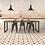 Thumbnail: Scintilla Paprika Orange Star Pattern 45cm x 45cm Wall & Floor Tile