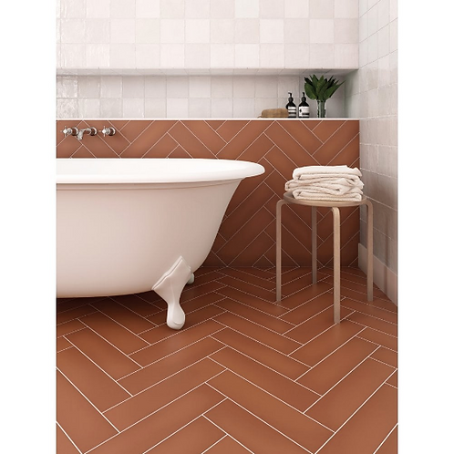 Stromboli Canyon 9.2cm x 36.8cm Wall & Floor Tile