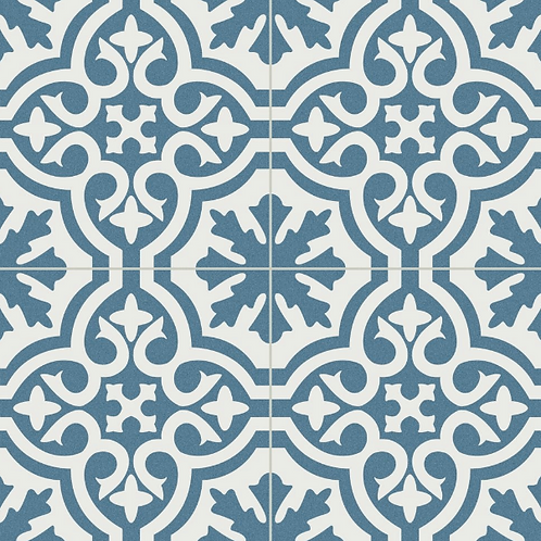 Barkeley Blue 45cm x 45cm Wall and Floor Tile