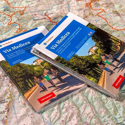 Via Medicea - Carta Escursionistica e Guida Turistica