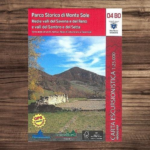 Carta04BO Parco Storico di Monte Sole