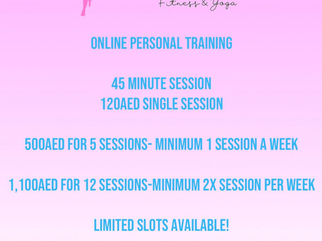 Contact me today ladies and make a start on your 'Isolation Transformation' 💪🏼💖