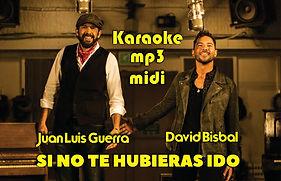 Si no te hubieras ido - Juan Luis Guerra y David Bisbal