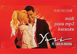 Ya no vives en mi - Yuri y Carlos Rivea