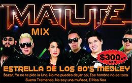 Matute, Estrella de los 80's