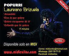 Midi Popurri de Laureano Brizuela