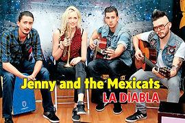 Midis y Karaokes - La Diabla - Jenny and the Mexicats