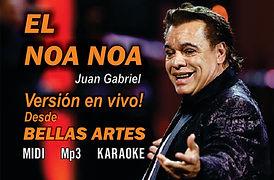 El Noa Noa - Juan Gabriel en Bellas Artes