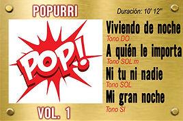 Midis y Karaokes - Popurri Pop -1