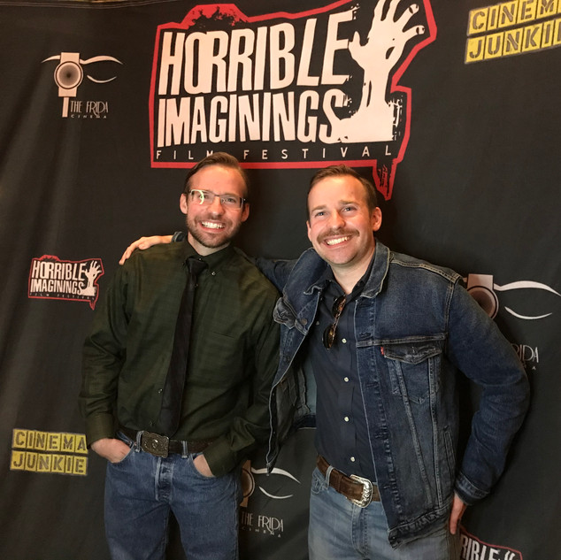The Barber Brothers at Horrible Imaginin