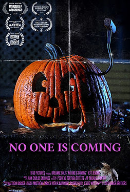 No One Is Coming poster