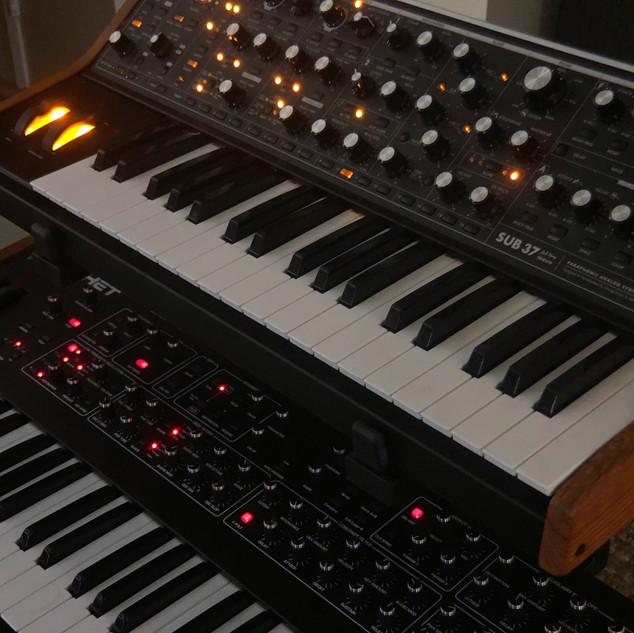 Moog and Prophet