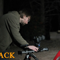 Matthew Barber setting up the final shot of Go Back.