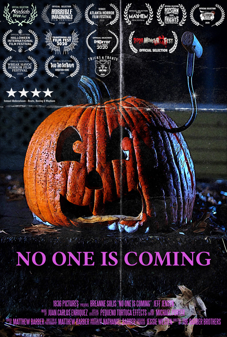 No One Is Coming - poster