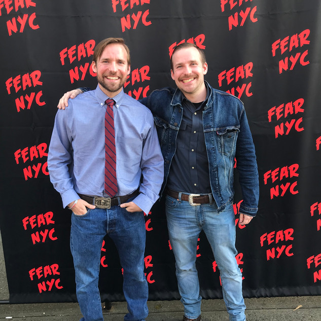 The Barber Brothers at FearNYC.